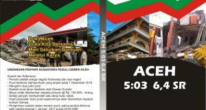 "Bantu Korban Gempa, Kuflet dan FAM Terbitkan Antologi Puisi ""Aceh 5:03 6,4 SR"""