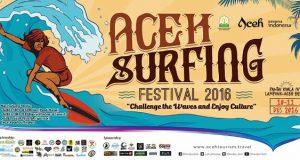 Aceh Surfing Festival, Kadisbudpar Aceh : Spot Tourism Harus Terus Ditingkatkan