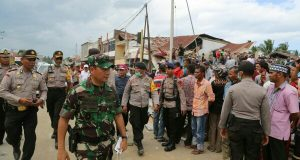 Tatang Sulaiman Tinjau Bencana Gempa Pijay, Kodam IM Kerahkan Alat Berat