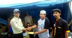 LSM Gayo Peduli, GaSAK dan BSC Serahkan Bantuan Korban Gempa Pijay
