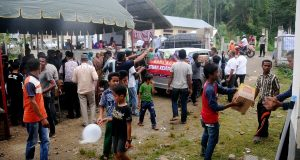 KONI Aceh Salurkan Bantuan Korban Gempa di Pidie Jaya