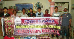 Pray For Pijay, Aliansi Masyarakat Gayo Banda Aceh Berikan Bantuan