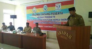 Dinkes Aceh Tengah Sosialisasikan Advokasi Program P2 TB