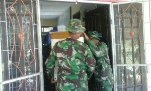 TNI Bersihkan SMP 3 Meureudu