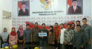 Pentingnya Pelayanan Publik, IPPEMATA Kunjungi Ombudsman Aceh