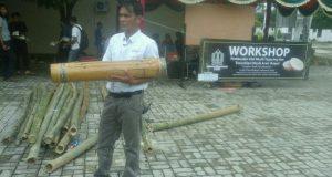 ISBI Aceh Gelar Workshop Musik Bambu Teganing Gayo