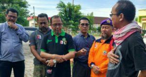 Relawan Nasional Logistik Klaster BNPB Bergabung di Posko Kemenag