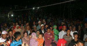 Ribuan Warga Gayo Lokop Sambut Cawagub Nasaruddin