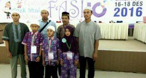 Santri Bener Meriah Juara 3 Festival Anak Saleh Indonesia