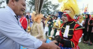 SDN 10, SMPN 1 dan MAN 1 Takengon Juara Marching Band Tanoh Gayo 2016