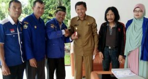 Plt. Bupati Aceh Tengah Terima Lencana Adhitya Karya Mahatva Yhodha Award