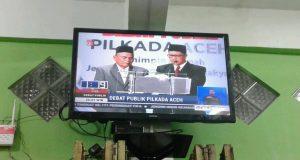 Debat Pilkada Aceh, Apa Karya; Keamanan Bermasalah Saat Perut Lapar