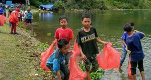 Berwisata ke Danau Lut Tawar Jangan Tinggalkan Sampah