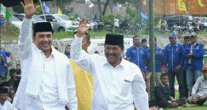 Hari Pertama 2017, Paslonbup-Wabup Aceh Tengah Muchsin-Taufik Gelar Kampanye Akbar