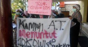 Aksi Bela Rakyat di Takengon Tuntut  Pemerintah Pro Rakyat