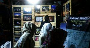 Dinding Galery Foto EWG di ARB Ramai Dikunjungi Wisatawan Luar Daerah