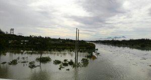 Sungai Lamnyong Meluap, Beberapa Rumah Terendam