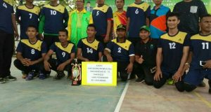 Kanwil VC Juara Turnamen Voli HAB ke 71 Kemenag Aceh