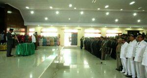 Sesuaikan Perangkat Daerah Baru, 735 Pejabat Aceh Tengah Dilantik