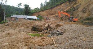 Hujan Deras, Uning Pegasing Longsor