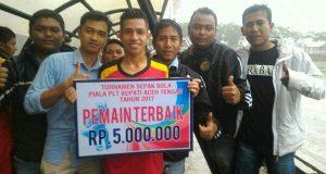 Datu Beru FC Kampiun Open Turnamen Sepak Bola Piala Plt Bupati Aceh Tengah