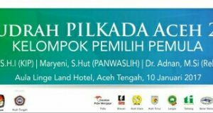 Wujudkan Pilkada Damai, The Aceh Institute Selenggarakan Direct Meeting Pilkada 2017 di Takengon