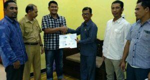JKMA Aceh dan AGC  Serahkan Raqan Kabupaten Bireuen tentang Hutan Adat Mukim