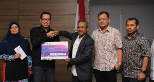 Melalui Unsyiah, UiTM Malaysia Sumbang Dana Bagi Korban Gempa Pijay