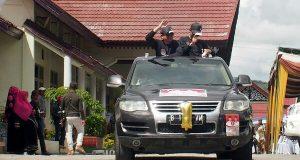 Usman Nuzuly-Bukri Pimpin Konvoi Sosialisasi Pilkada Aceh Tengah