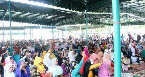 Ribuan Pendukung AZAN wilayah Aceh Tengah Gelar Do'a Bersama