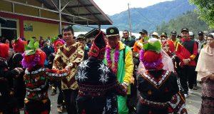 Aksi Lingkungan di Lut Tawar, Kanwil Kemenag Aceh Disambut Tari Munalo