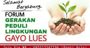 Pemuda Gayo Lues Bentuk Forum Gerakan Peduli Lingkungan, Ayo Bergabung!