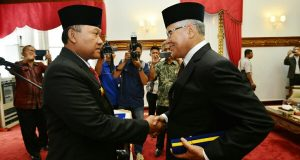 Soedarmo Lantik Zulkifli Jadi Plt Walikota Sabang