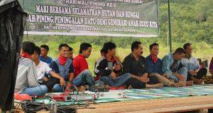 Hari Jadi ke-5, Harimau Pining Susun Strategi Selamatkan Hutan dan Sungai