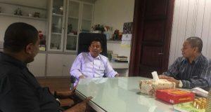 Bahas Anggaran Gempa Pijay, Kemenag Aceh Temui Direktur Pendidikan Madrasah