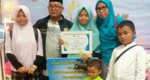 Hafal 30 Juz, Santri Dayah IQ Asal Gayo Raih KNPI Award