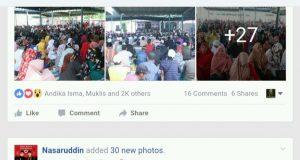 Akun FB Pak Nas Fantastis, Interaksinya Puluhan Ribu