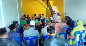 Camat Wih Pesam Buka Pelatihan Peningkatan Kapasitas Aparatur Kampung