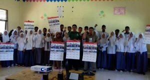 Video Kegiatan Siswa Nusantara Bersatu Diputar di SMAN 18 Takengon