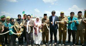 Gubernur Resmikan Jembatan Lamnyong