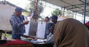 Hasil Perhitungan Suara Versi KPU Pilkada Aceh Tengah di Kecamatan Bies