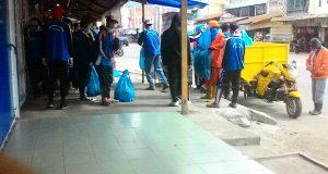 HPSN, Pelajar Aceh Tengah Pungut Sampah di Seputaran Kota Takengon