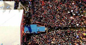 Putaran Akhir Kampanye Akbar, Massa Irwandi-Nova Padati Stadion Harapan Bangsa Banda Aceh