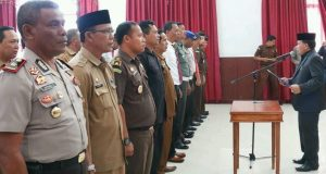 Ketua Satgas Saber Pungli Bener Meriah Umumkan Call Center Pengaduan