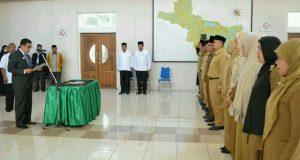 48 Pejabat Pemkab Aceh Tengah Dimutasi