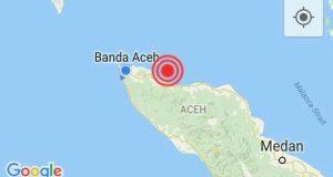 Gempa Kembali Getarkan Aceh, Kali ini di Nagan Raya