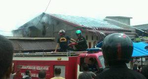 Siang Bolong 1 Rumah Terbakar di Bukit Bener Meriah