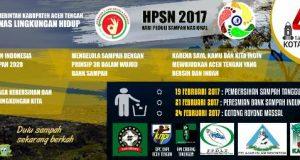 Wujudkan Adipura 2017 Aceh Tengah Gelar Rangkaian HPSN
