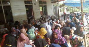 Mahasiswa KPM STAIN Gajah Putih Ikut Ramaikan BKMT Kecamatan Rusip Antara