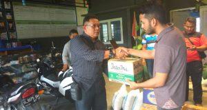 HIMAGA Salurkan Bantuan Untuk Warga Kampung  Lot Kala